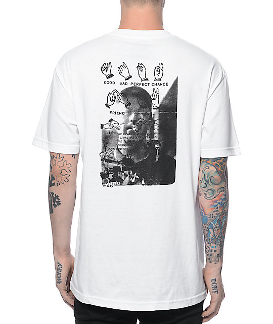 Lurk Hard Friends White T-Shirt