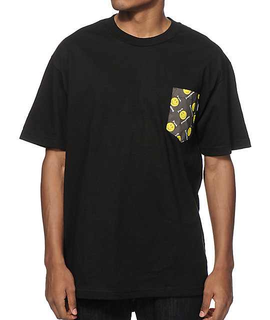 Lurk hard fuck everything pocket t shirt at zumiez pdp for Get fucked t shirt