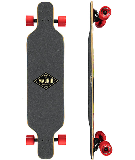 "Madrid Autumn 40"" Drop Down Longboard Complete"