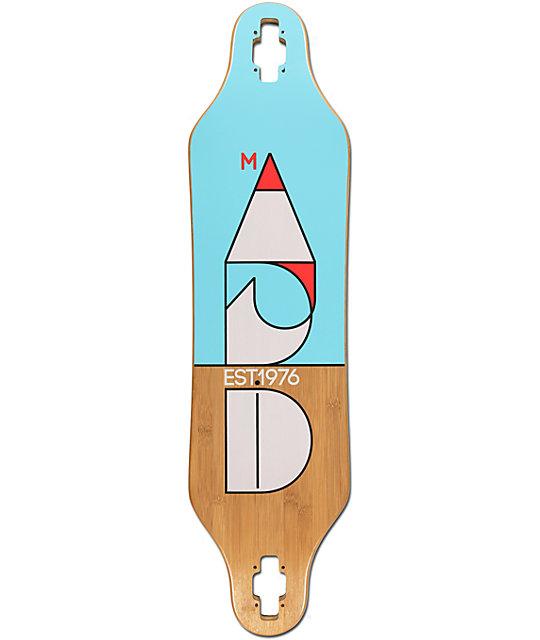 """Madrid Cut 37.875""""  Drop Through Longboard Deck"""