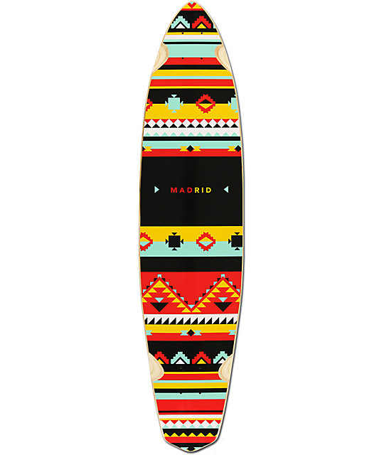 "Madrid Dude Africa 39""  Pin Tail Longboard Deck"