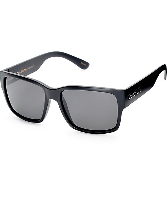 Grey Polarized Sunglasses  madson classico matte black grey polarized sunglasses at zumiez