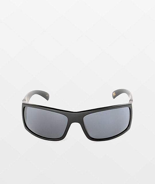 Madson Magnate Black and Grey Polarized Sunglasses