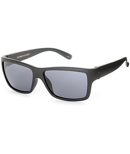 Madson Piston Black and Grey Polarized Sunglasses