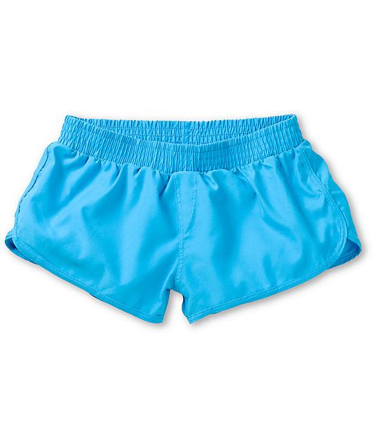 Malibu Hula Honey Tropical Blue Board Shorts