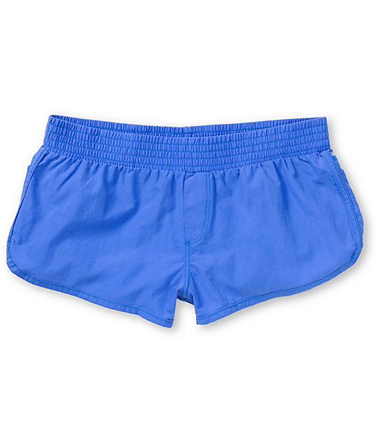 Malibu Solid Cobalt Blue Board Shorts