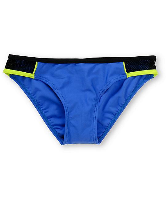 Malibu Sun Block Neon Tab Side Bikini Bottom