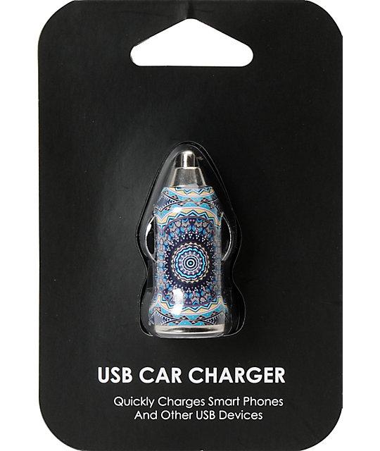 Mandala USB Car Charger