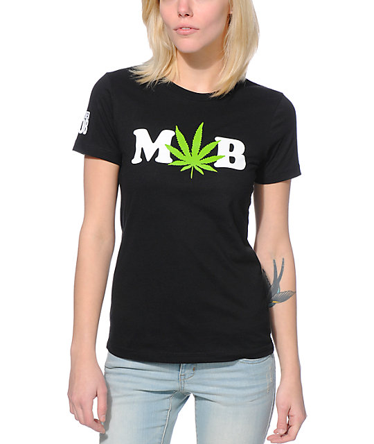 Married To The Mob Dope Dealer Black T-Shirt