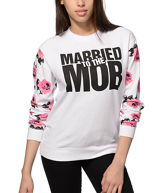 Married To The Mob We all need some good MTTM styles in our closets. Shop the newest graphic tees, sweats, snapbacks, tanks, leggings and more from NYC based super rad women's street inspired urban wear brand Married To The Mob, dedicated to all of the bad b*tches around the world.