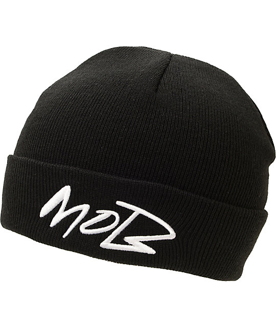 Married To The Mob Futuramob Black Cuff Beanie