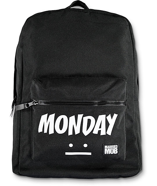 Married To The Mob Monday Backpack