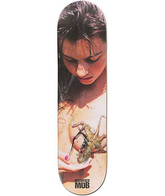 "Married To The Mob Octopastie 8.0""  Skateboard Deck"
