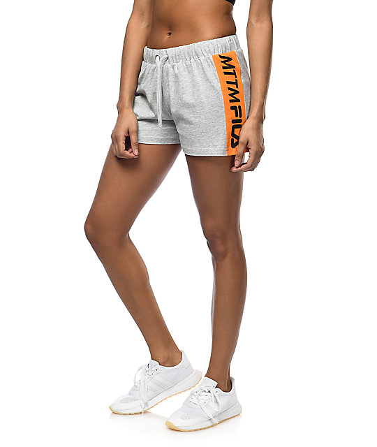 Married To The Mob x Fila First Place Grey Shorts