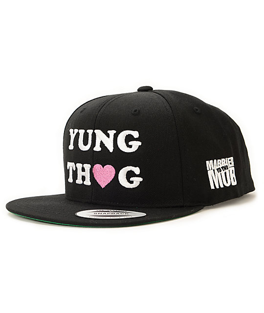 Married To The Mob x Lil Debbie Yung Thug Snapback Hat