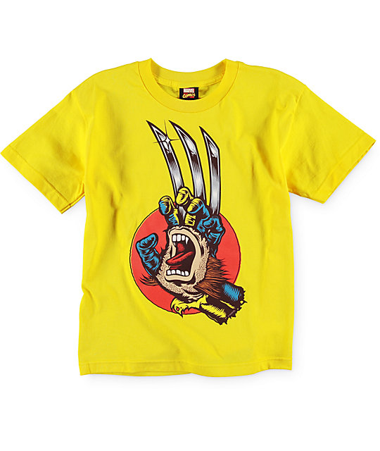 Marvel x Santa Cruz Boys Wolverine T-Shirt