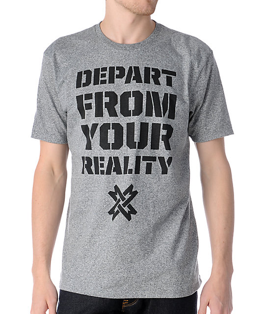 Mass Exodus Departed Grey T-Shirt