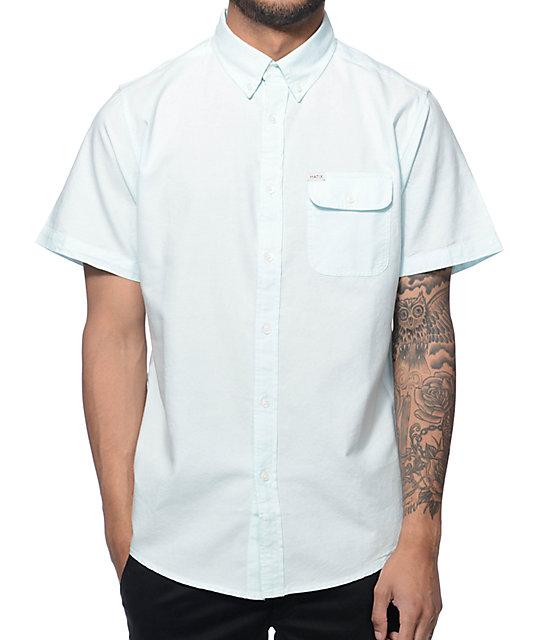 Matix Al Seafoam Oxford Button Up Shirt