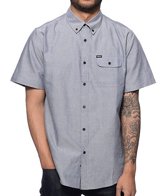 Matix Al Smoke Oxford Button Up Shirt