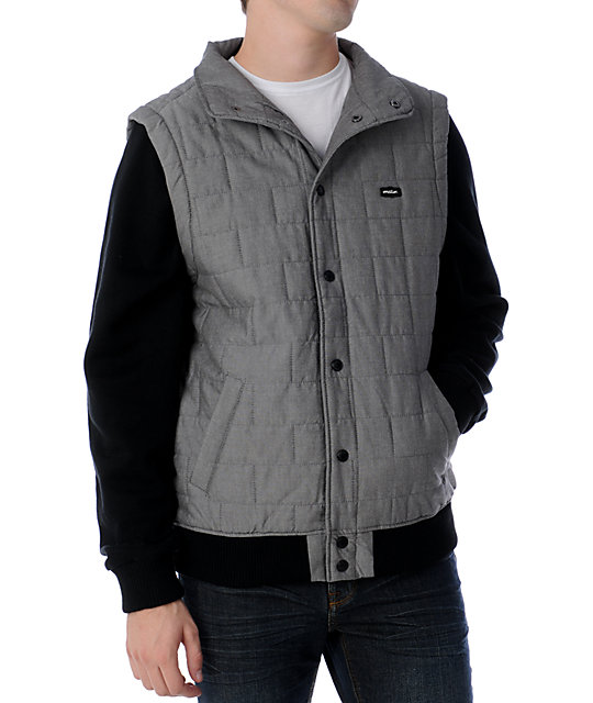 Matix Asher Intel Black Vest Fleece