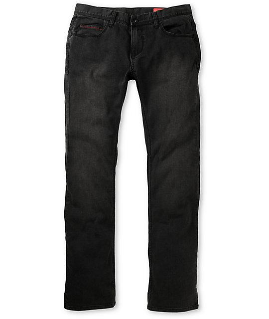 Matix Daewon Gripper Faded Black Slim Jeans