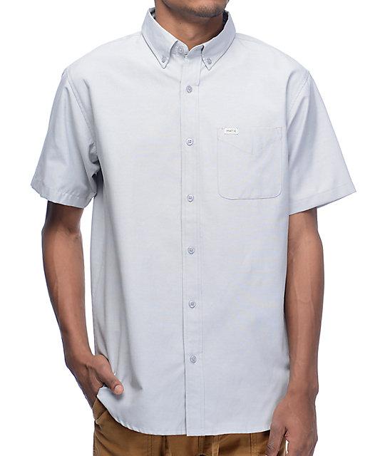 Matix Eli Oxford Grey Woven Shirt