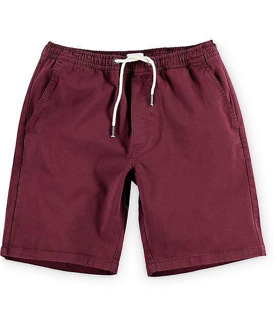 Matix Fast Kash Dark Red Shorts