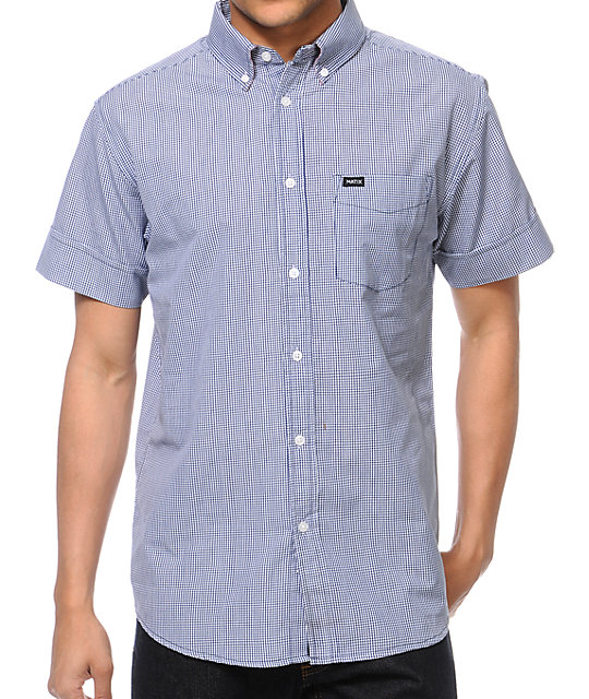 Matix Ging Crosby Navy Button Up Shirt