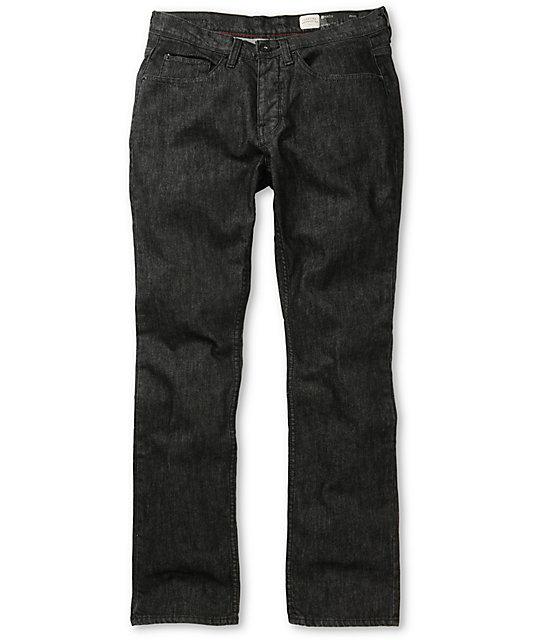 Matix Gripper Black Scratch Slim Fit Jeans