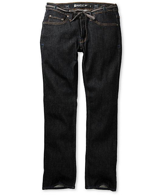Matix Gripper Deep Rinse Skinny Jeans