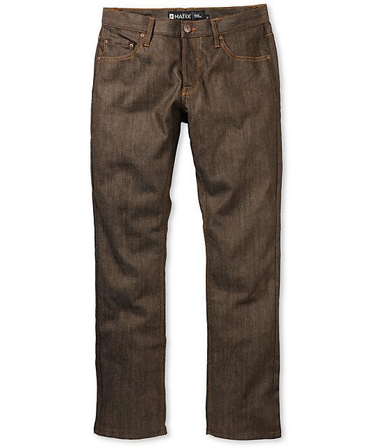 Matix Gripper Harvest Raw Skinny Jeans