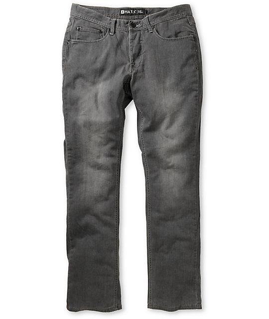 Matix Gripper Hesh Grey Skinny Jeans