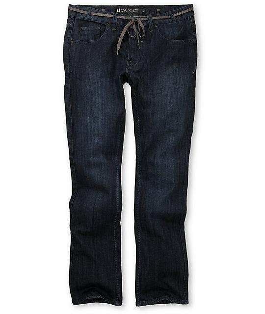Matix Gripper Indigo Pauper Skinny Jeans