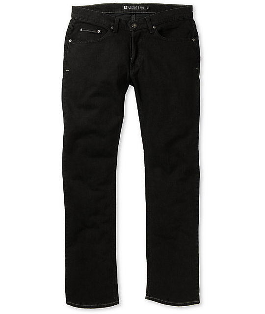 Matix Gripper Orion Black Skinny Jeans