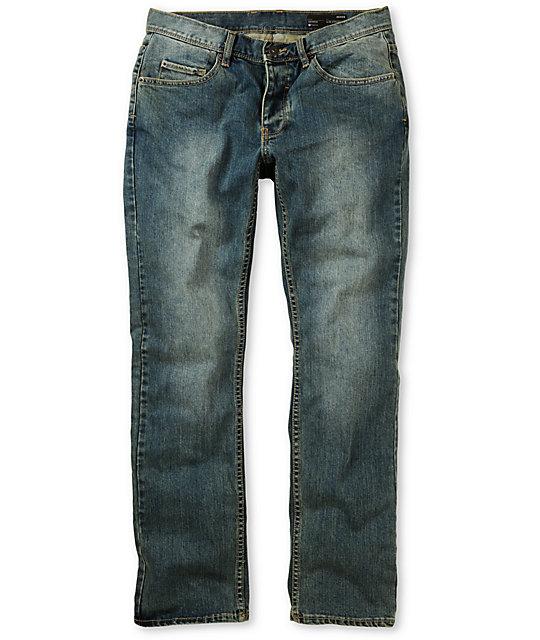Matix Gripper Vintage Indigo Skinny Jeans