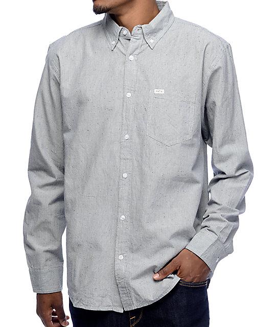 Matix Langston Blue Long Sleeve Button Up Shirt