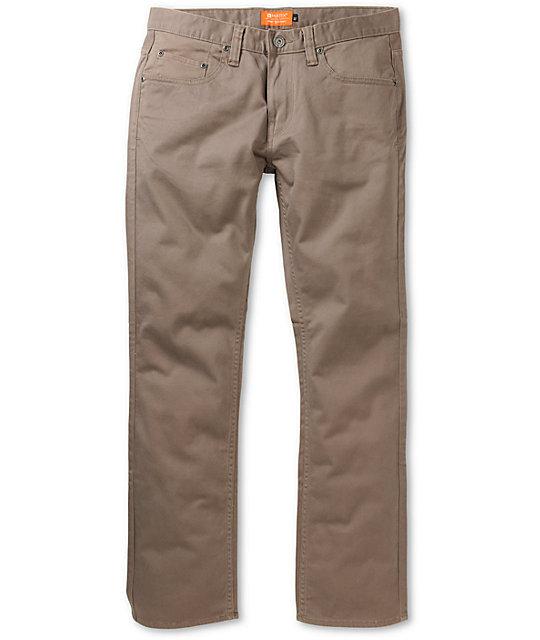 Matix Marc Johnson Clove Marc Johnson Clove Vintage Twill Slim Pants