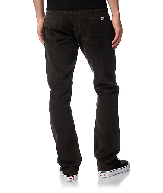 Matix Marc Johnson Cocoa Brown Regular Fit Corduroy Pants
