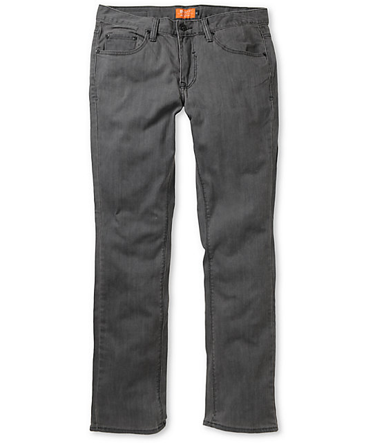Matix Marc Johnson Gunmetal Grey Slim Jeans