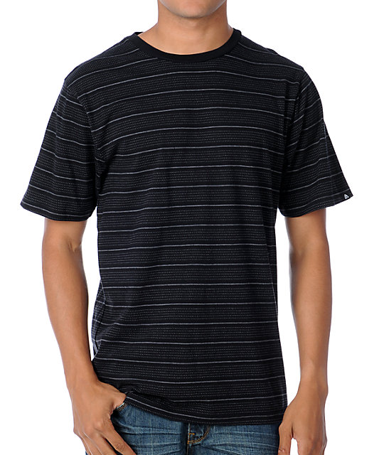 Matix Marc Johnson Stellar Black Knit T-Shirt
