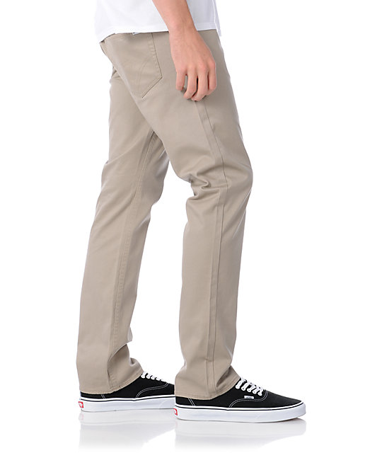 Matix Marc Johnson Twill Casual Khaki Pants
