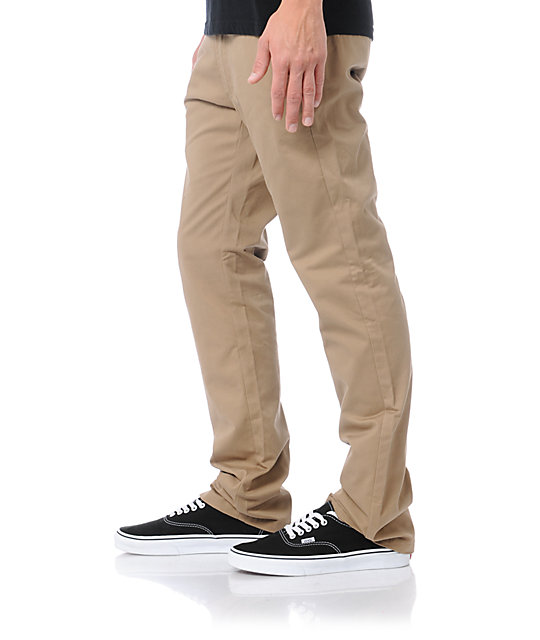 Matix Mens Welder Slim Fit Khaki Pants