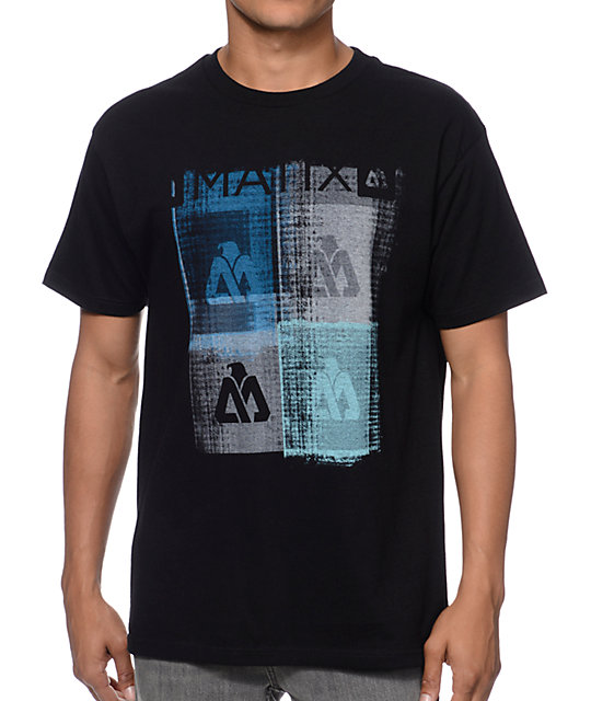 Matix Quatro Black T-Shirt