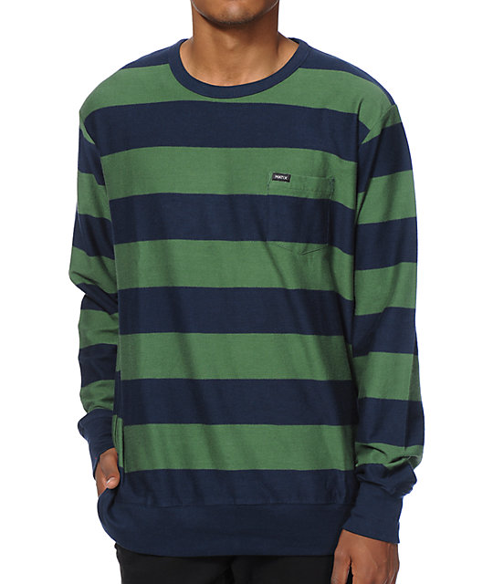 Matix Raceliner Stripe Pocket Shirt