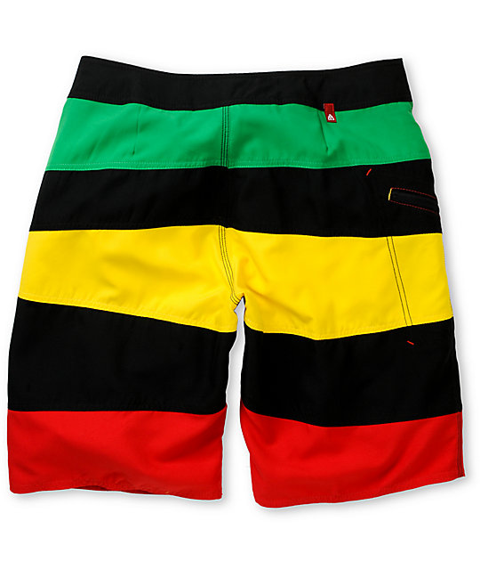 Matix Rudeboy Rasta Board Shorts