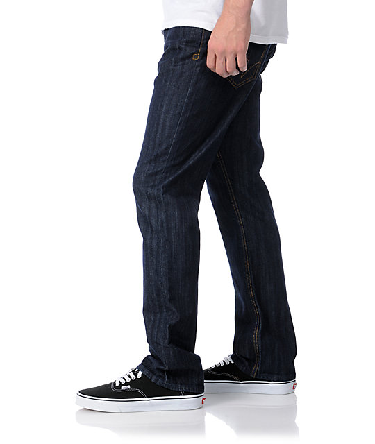 Matix Torey Pudwill Dark Blue Regular Fit Jeans