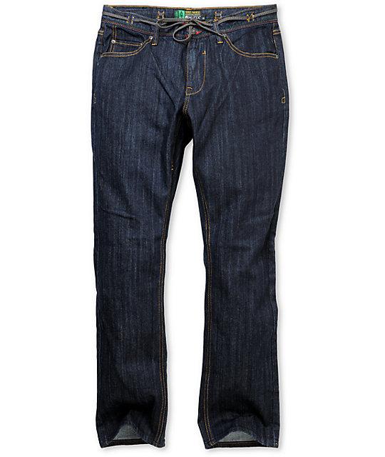 Matix Torey Pudwill Dark Blue Regular Fit Jeans