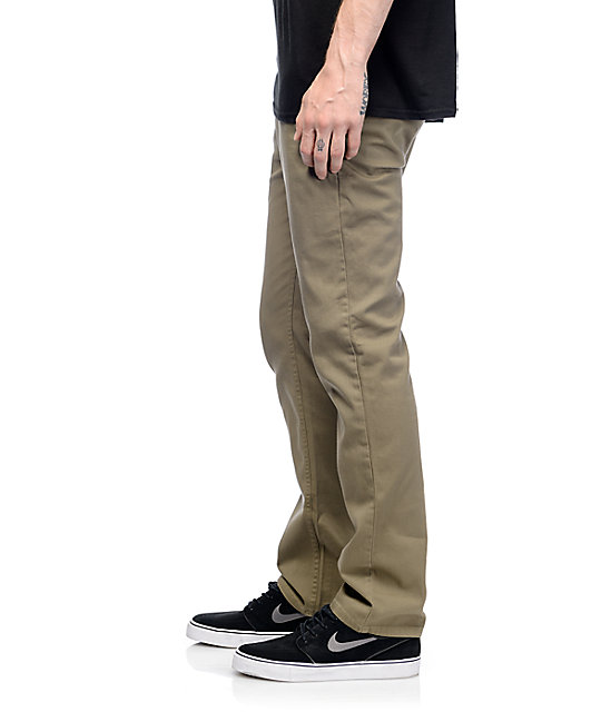 Matix Welder British Khaki Chino Pants