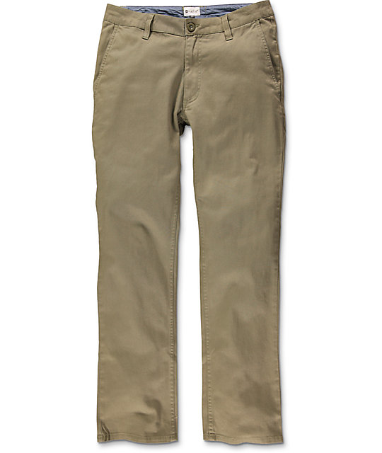 Matix Welder British Khaki Chino Pants at Zumiez : PDP