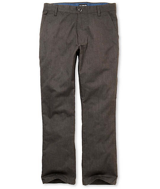 Matix Welder Charcoal Slim Fit Chino Pants